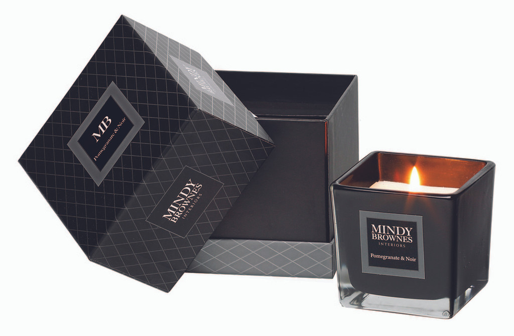 Mindy Brownes Candle - Pomegranate & Noir - KIN017