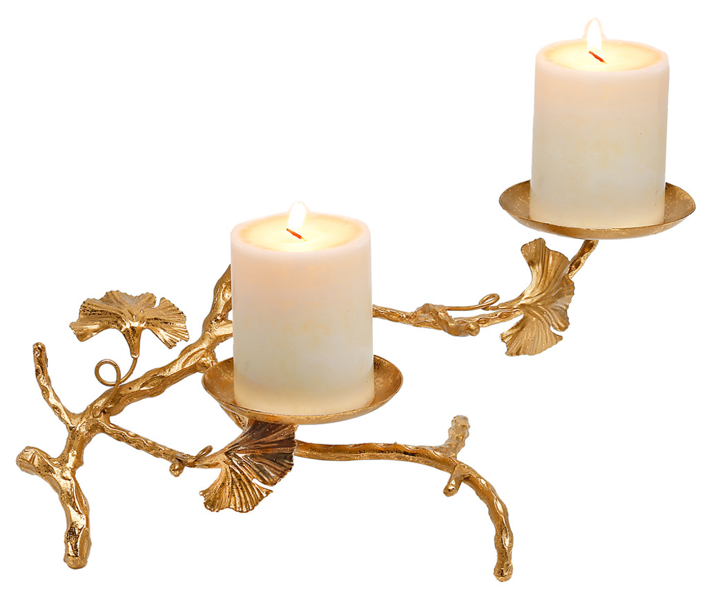 Abbey Candle Holder Double Sdi070 Genesis Mindy Brownes Interiors