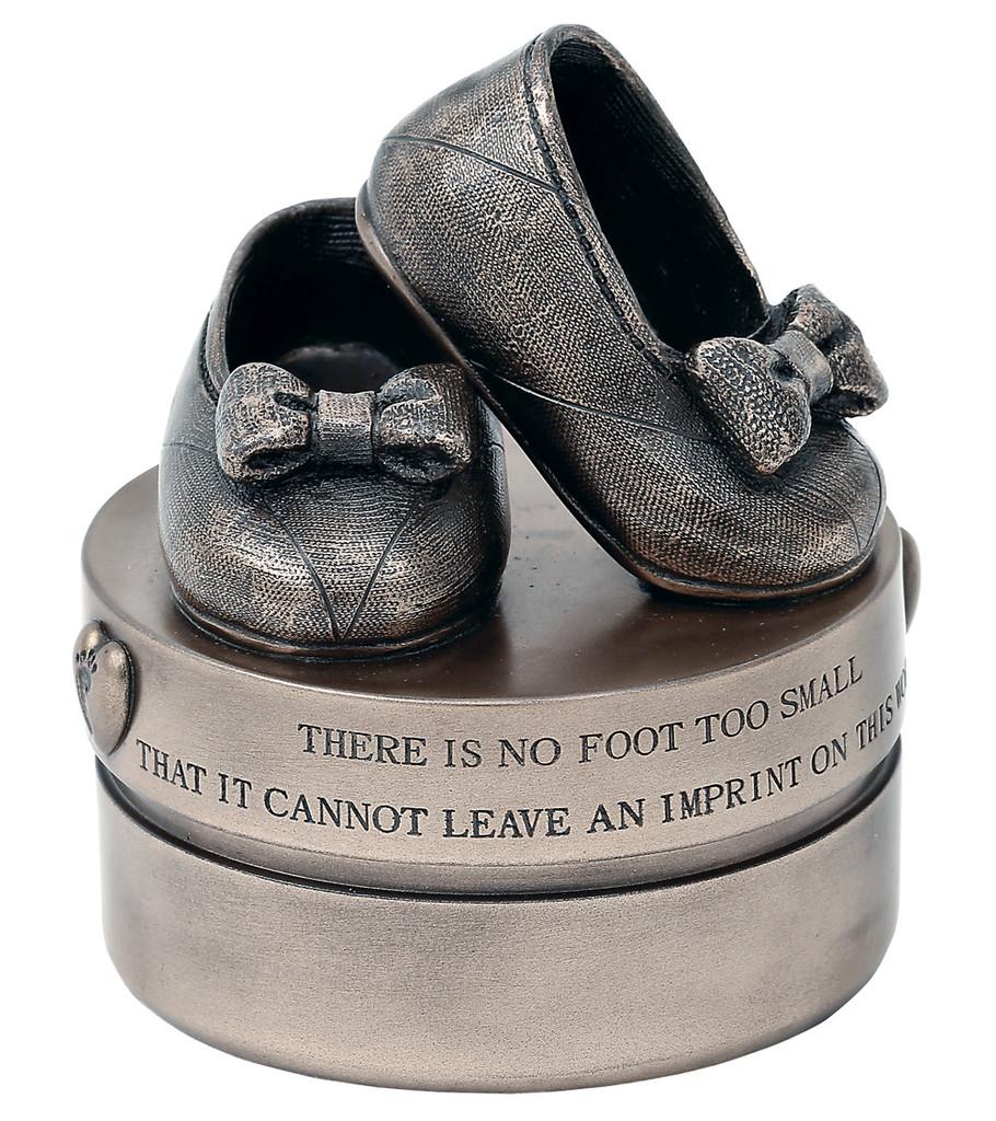 Baby Girl Booties (Trinket Box) - RR010