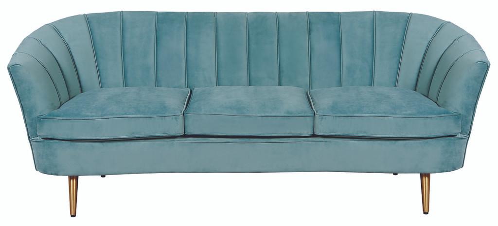 Nimes 3 Seater Sofa Sea Green - NIN019