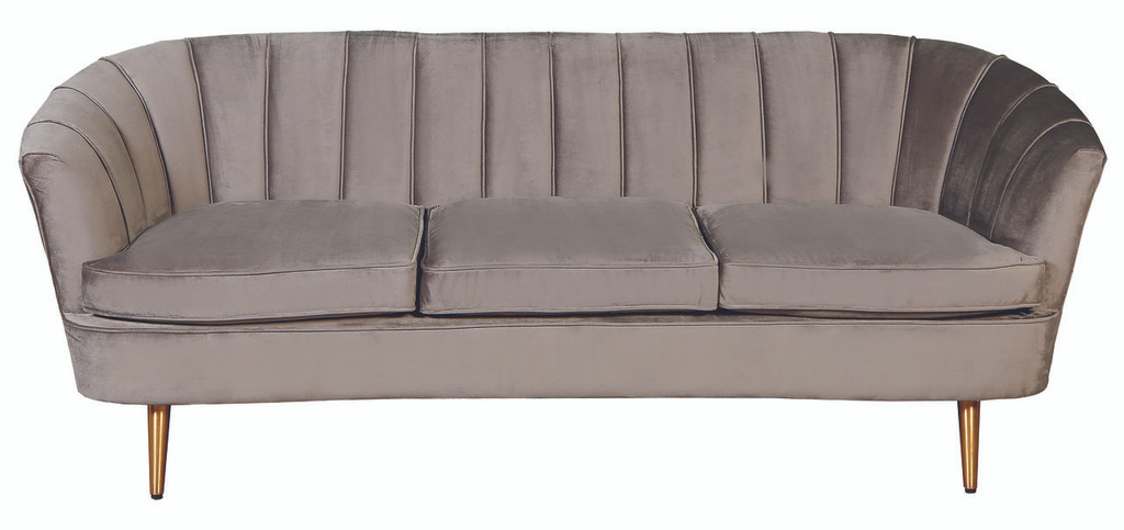 Nimes 3 Seater Sofa - Grey - NIN020