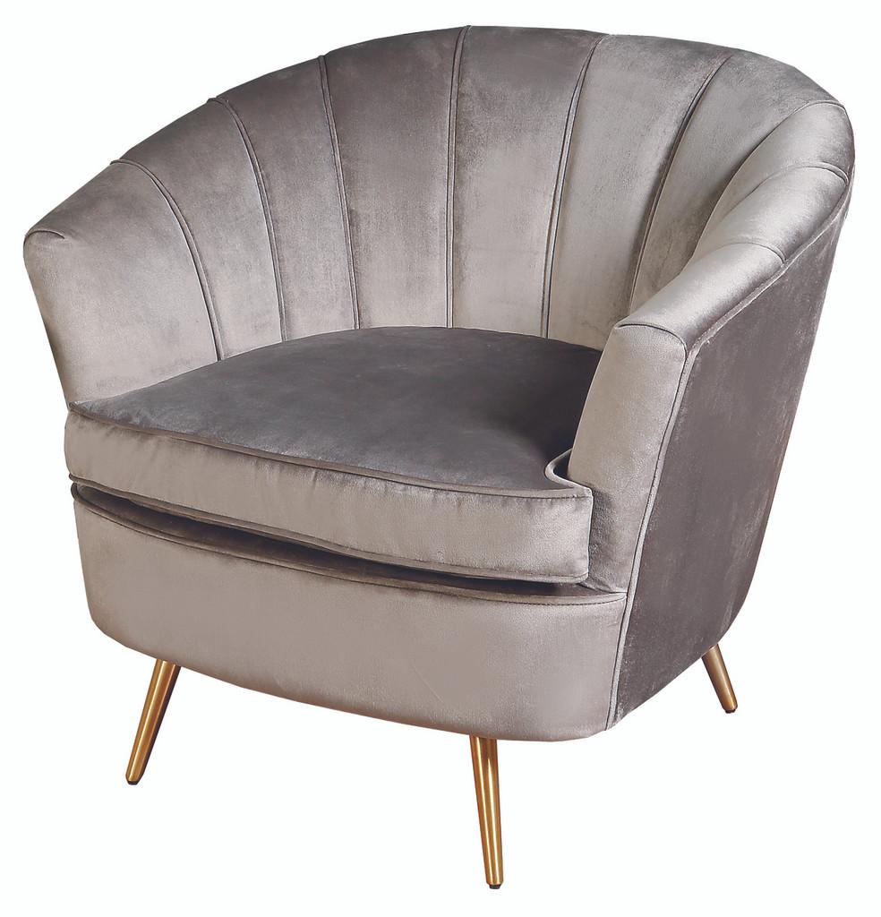 Nimes 1 Seater Grey - NIN022