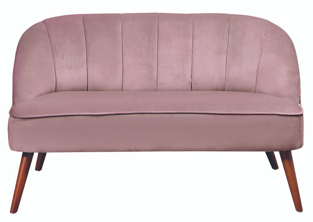 Vannes 2 Seater Blush Pink  - HLI005