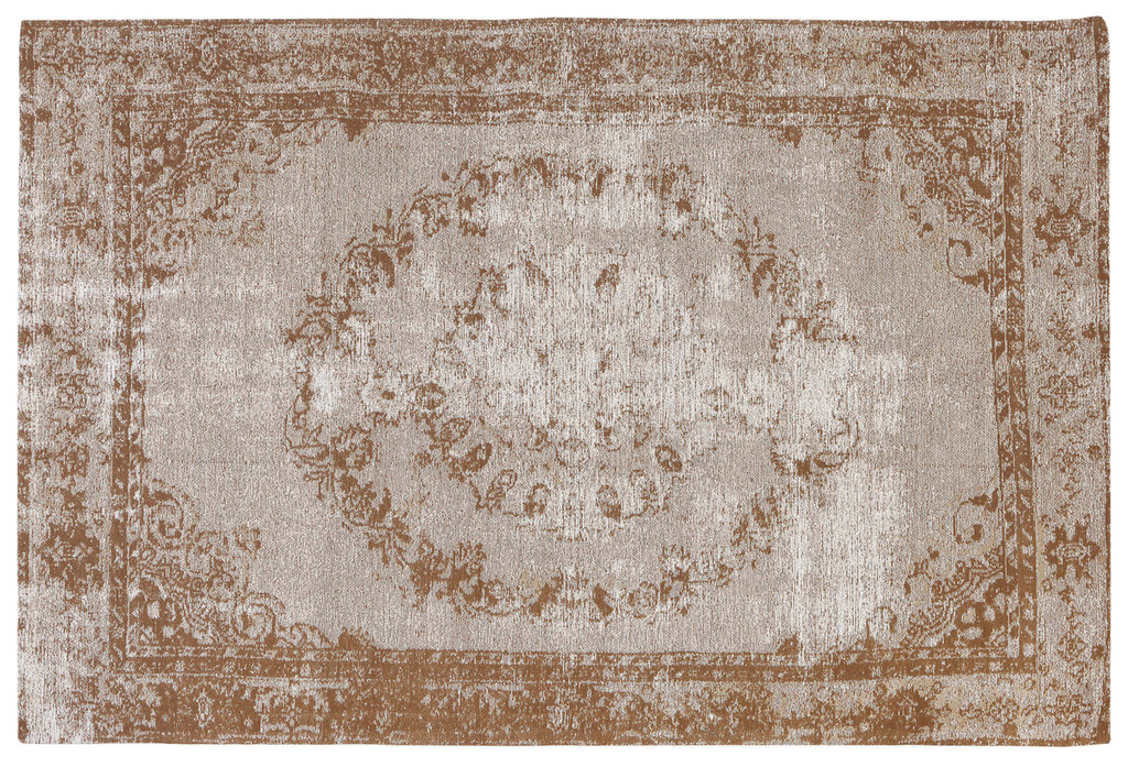 Jacquard Woven Rug Beige/Brown - RC004