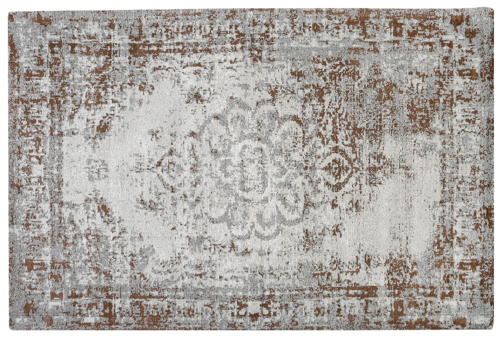 Jacquard Woven Rug Light Green - RC012