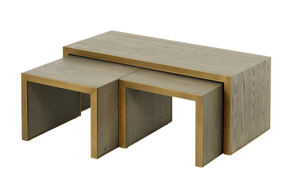 Lincoln Coffee Table Set/3 (SH012)