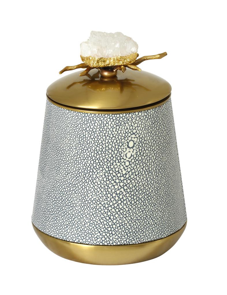 Lucia Decorative Jar Small (ID008)