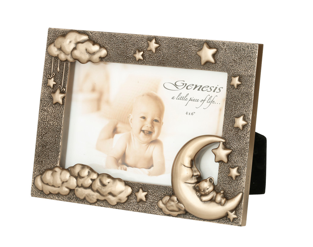 Moon and Teddy Picture Frame (6*4) SS024