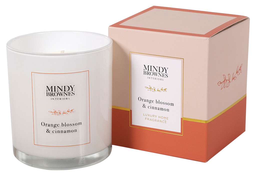 Orange Blossom & Cinnamon Candle (MBC02)