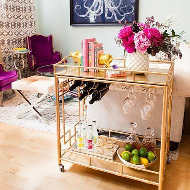 Bar Cart Inspiration - In Time for Summer!