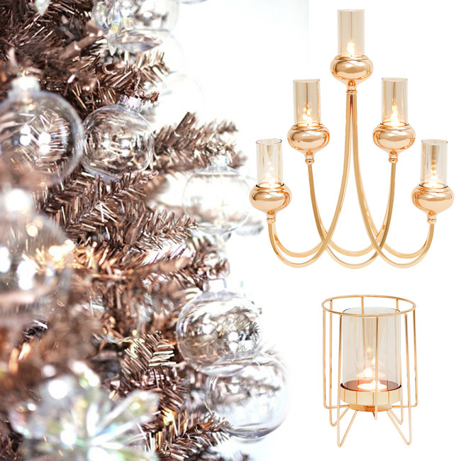 Add Glamour and Warmth to Your Home  with Rose Gold Accessories