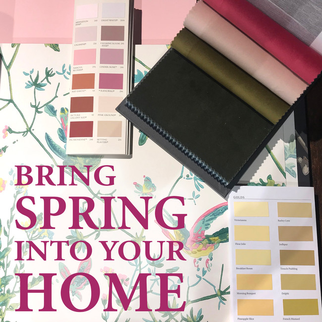 Spring is Here - Interiors Inspiration