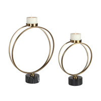 Nikola Candleholders (Set of 2)  -  R18919