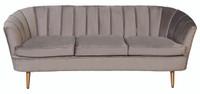 Nimes 3 Seater Sofa - Grey - NIN020