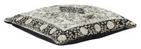 Jacquard Woven Cushion Natural Black - RC033 Set of 2
