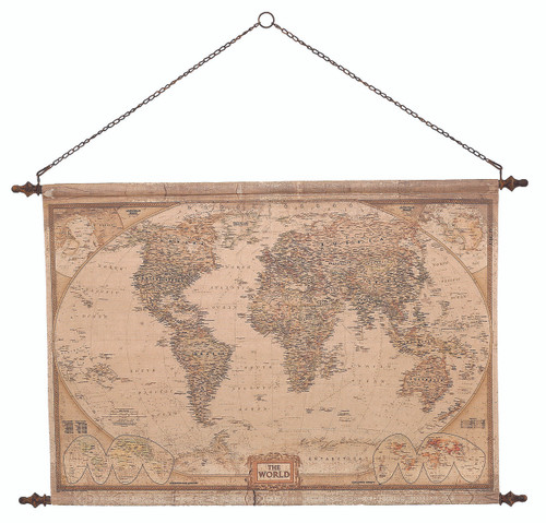Vintage World Map - LY108