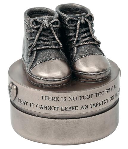 Baby Boy Booties (Trinket Box) -RR009