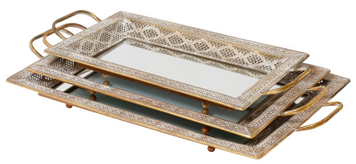 Latifa Tray Set/3 - FUZ041