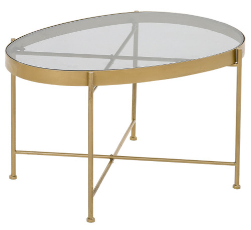 Austin Table Small (Grey Glass)- TF029