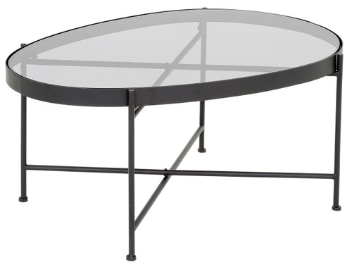 Austin Coffee Table (Black) - TF031 (Please see below for shipping details*)