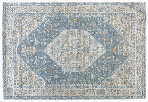 Jacquard Woven Rug Beige/Grey - RC016 No return or exchange on floor rugs