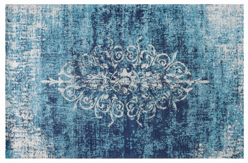 Jacquard Wolven Rug Blue - RC018 No return or exchange on floor rugs