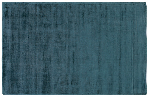 Viscose Rug Petrol - RC022 No return or exchange on floor rugs