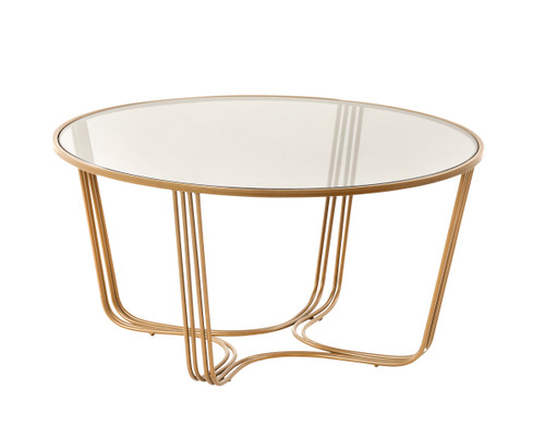 Darla Coffee Table Gold (TF041)