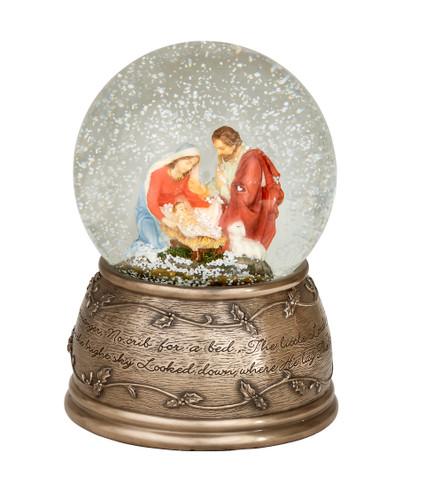 Holy Family Globe (SS020)