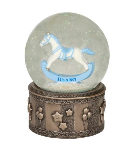 Rocking Horse Globe (Boy) SS021