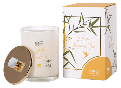 White Jasmine Tea Scented Candle (ZEN03)