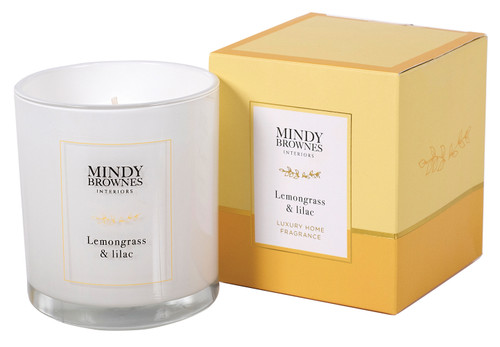Lemongrass & Lilac Candle - MBC06