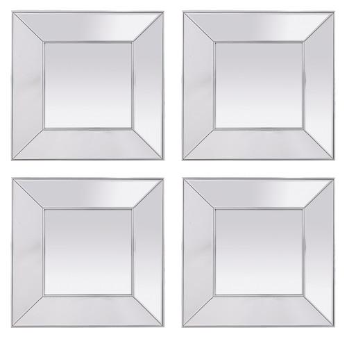 Rachella Mirror - Set of 4 - HUA083
