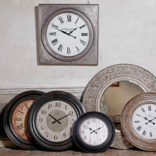 Statement Clocks by Mindy Brownes Interiors