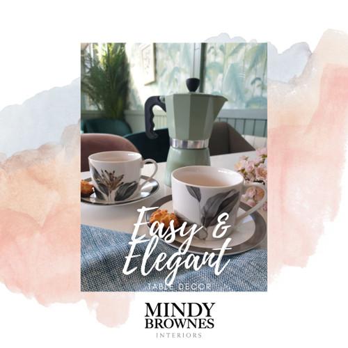 Easy and Elegant Table Decor