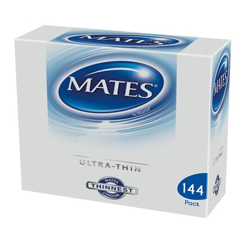 Mates Ultra Thin Condoms Bulk