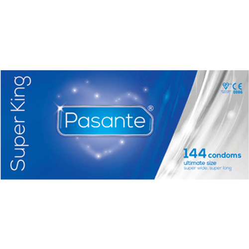 Pasante Super King Condoms Bulk
