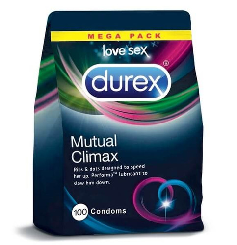 Durex Mutual Climax Condoms Bulk
