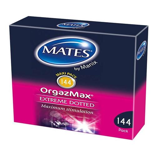 Mates Orgazmax Condoms Bulk