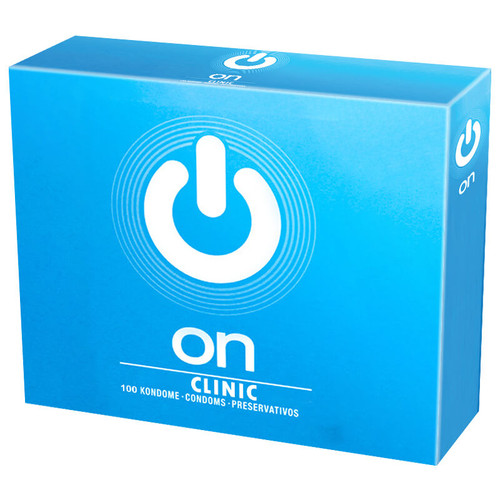 On Clinic Non Lubricated Condoms Bulk Packs