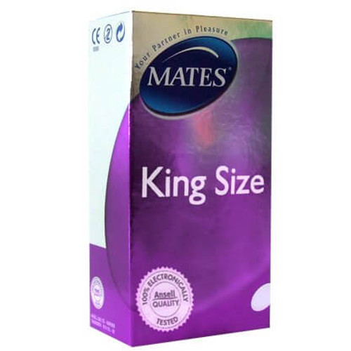 Mates King Size Condoms