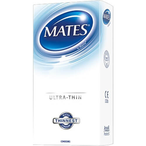 Mates Ultra Thin Condoms