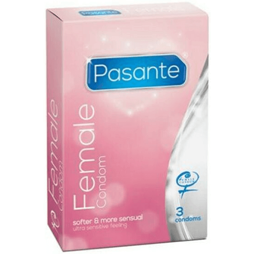 Pasante Femidom Non-Latex Female Condom