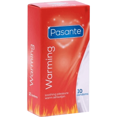 Pasante Warming Condoms
