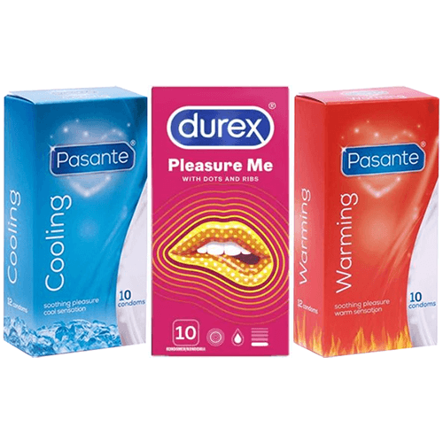 Sensation Condoms Value Pack