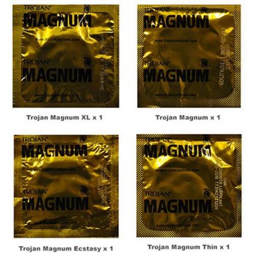 Trojan Magnum Condoms Trial Pack