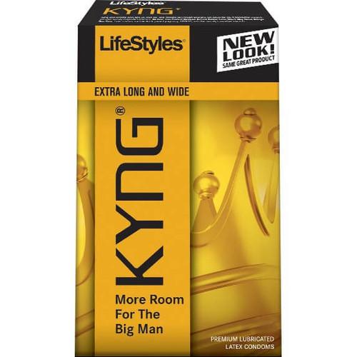 LifeStyles King Size XL Condoms
