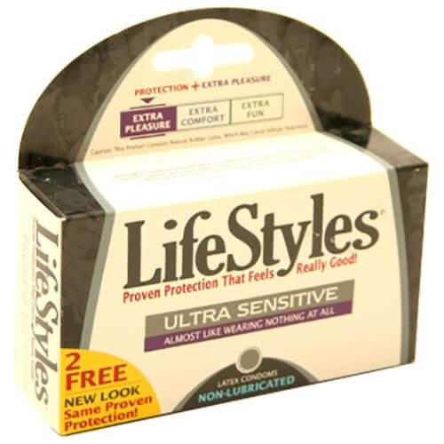 LifeStyles Non Lubricated Condoms