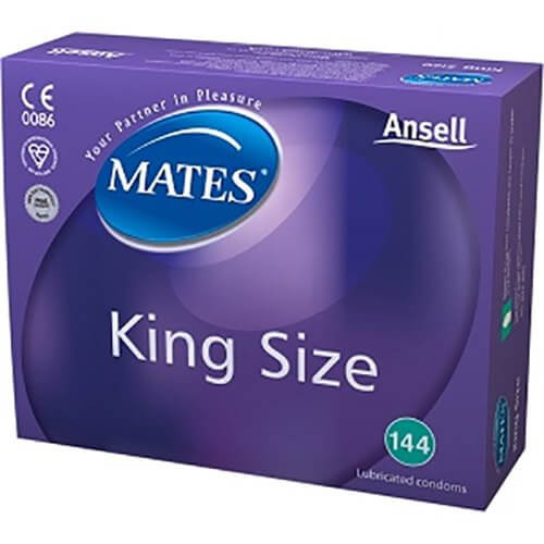 Mates King Size Condoms Bulk