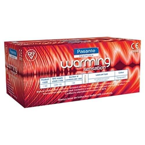 Pasante Warming Condoms Bulk
